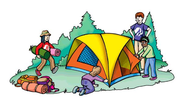 Tent clipart campsite Camping clipart clipart clipart vergilis