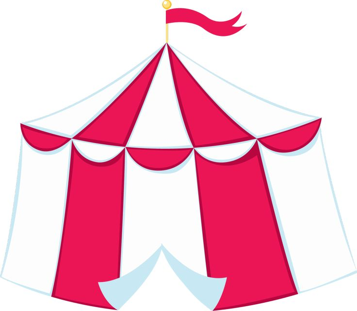 Carneval clipart pink circus tent About png 176 circo best