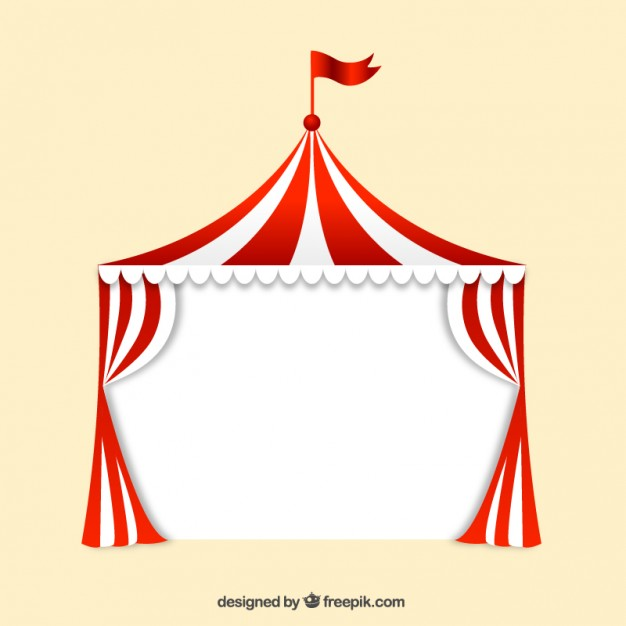 Carneval clipart big top Party cirque and Grand Circus