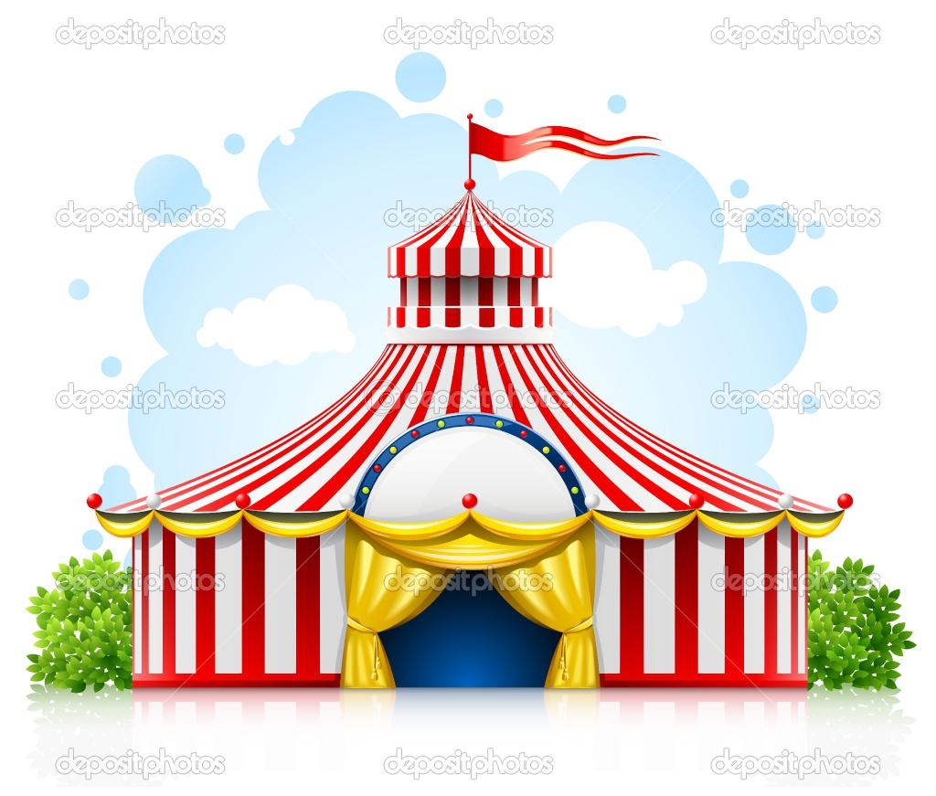 Tent clipart carnival booth Art Google circus Google circus