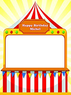 Tent clipart carnival booth Games sizes Tent Custom Booth