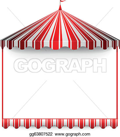 Tent clipart carnival booth Royalty tent  Clip Circus