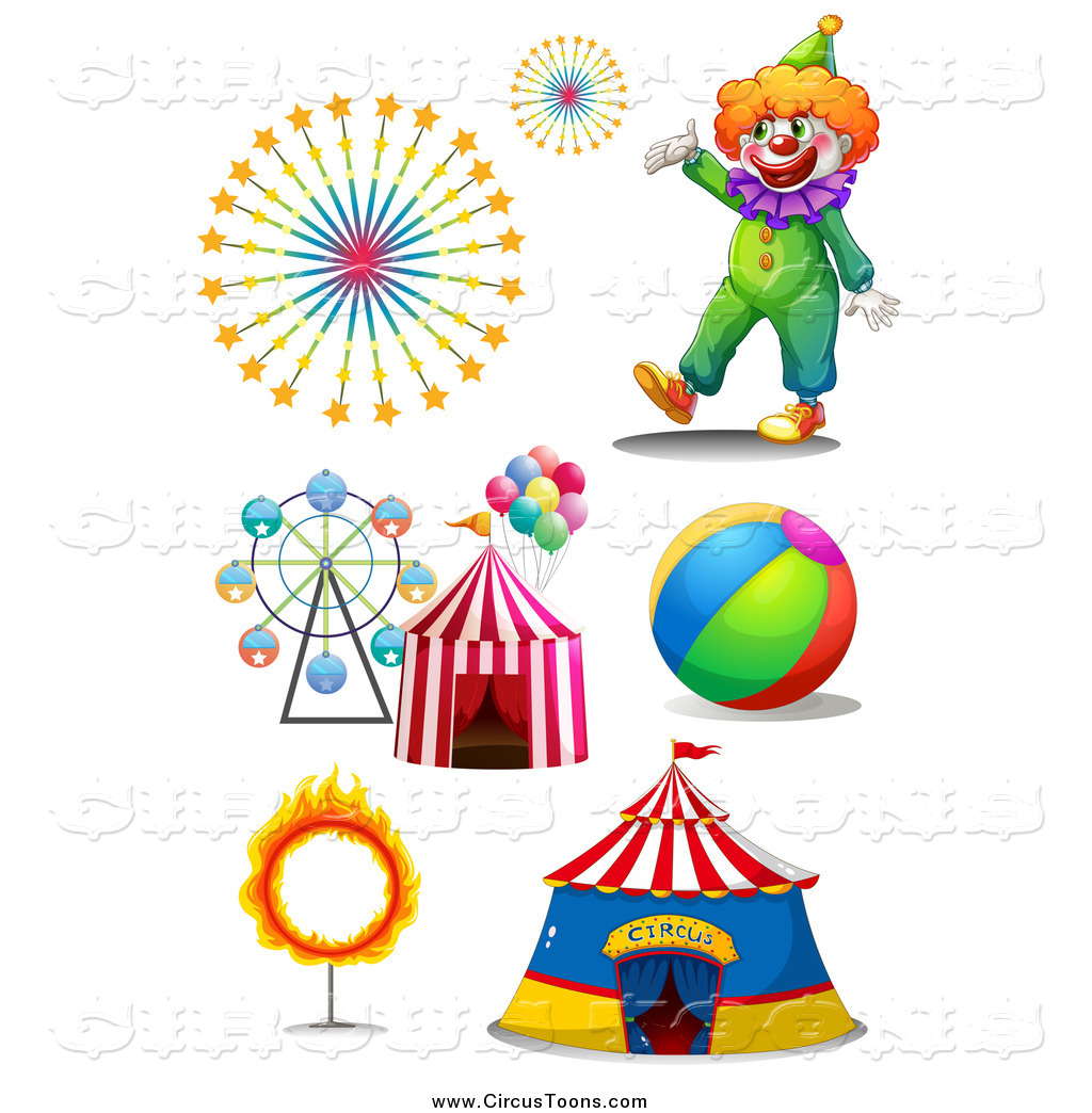 Tent clipart carnival ride Fireworks  Top Top and