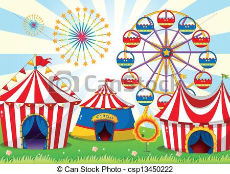 Carneval clipart spring carnival Illustration with csp13450222 Illustration stripe