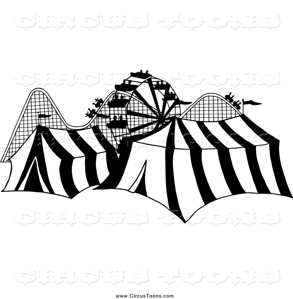 Tent clipart carnival ride Fair Royalty and and Circus