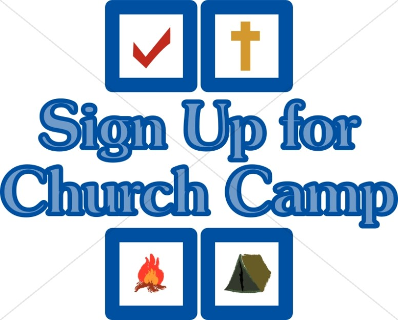 Camper clipart youth camp Camp Christian Christian Summer Camp