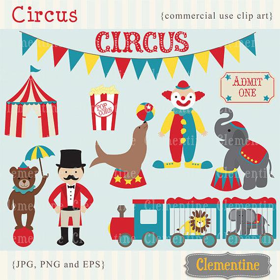 Carneval clipart circus train Art clipart clipart  Circus
