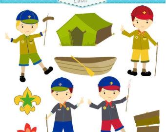 Campfire clipart cub scout Download Digital Scouts SALE art