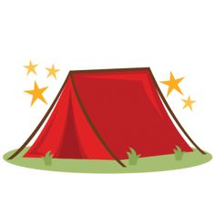 Tent clipart cute Pin F cute VACATION file