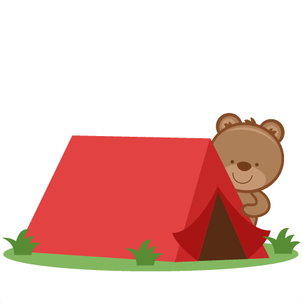 Tent clipart cute Svgs files svg pazzles filess