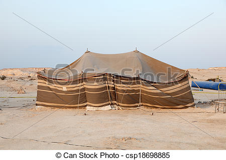 Tent clipart desert Qatar Qatar csp18698885 the in