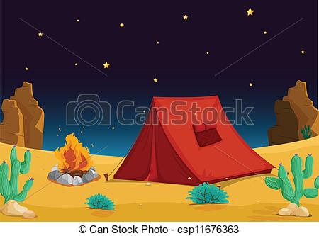 Tent clipart desert Of illustration Clip house of
