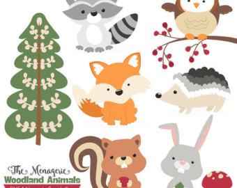 Baby Animal clipart woodland fox Clipart clipart Animal Clip Premium
