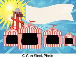 Tent clipart fun fair Vector FUN Vector FAIR EPS
