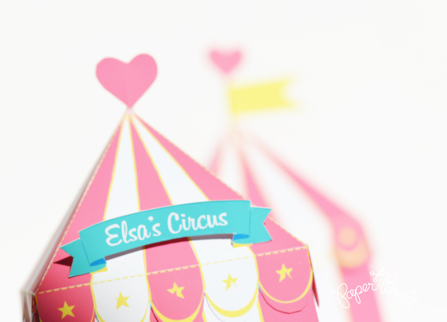 Tent clipart girly Box Favor Party Party Circus