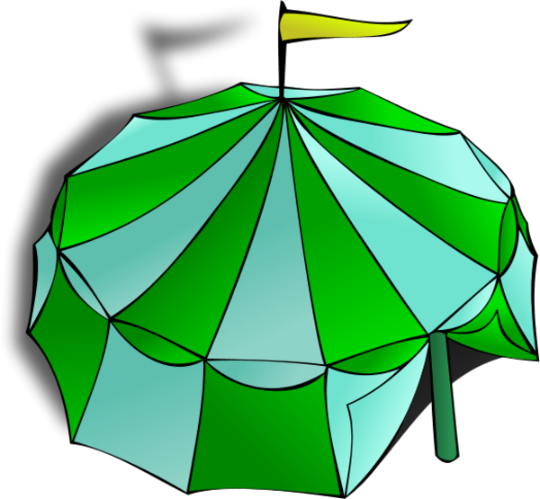 Tent clipart green Clipart 20clipart Canopy Clipart Free