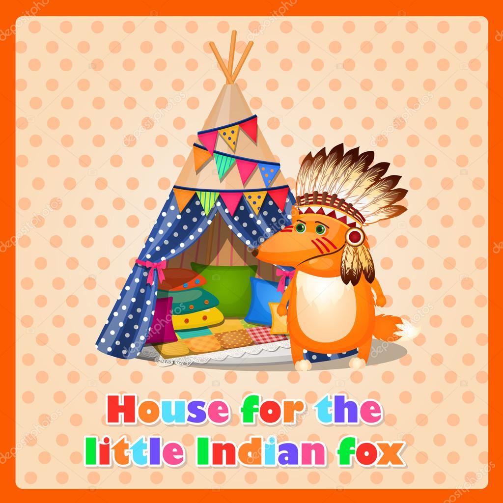 Tent clipart indian house Vector — for tent funny