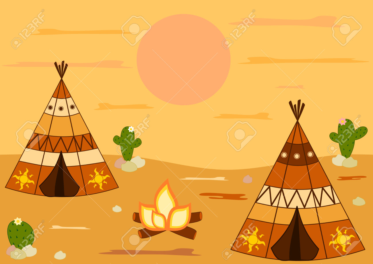 Tent clipart indian house Clipart Background Clipart Teepee Teepee