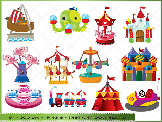 Tent clipart kids carnival / Carnival Art For of