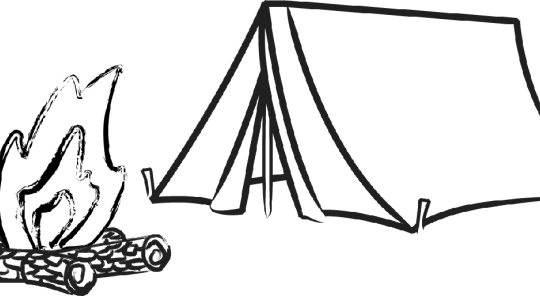 Tent clipart lds Tent  Clipart: Camping 50
