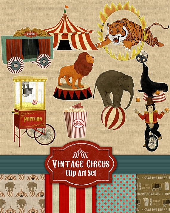 Carneval clipart tiger Elephant Circus 36 Clipart about