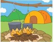 Tent clipart outdoor Kb 74 Clipart tent Clip