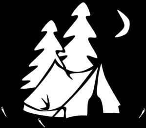 Tent clipart panda Tent Art Black Clipart White