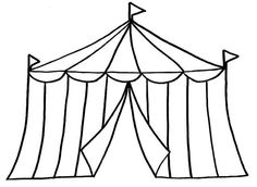 Tent clipart panda Cartoon Circus Clipart Clipart Forested