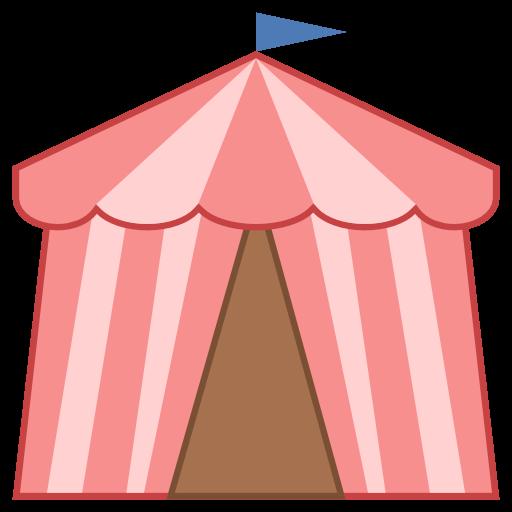Carneval clipart pink circus tent Free Tent Circus Download Tent