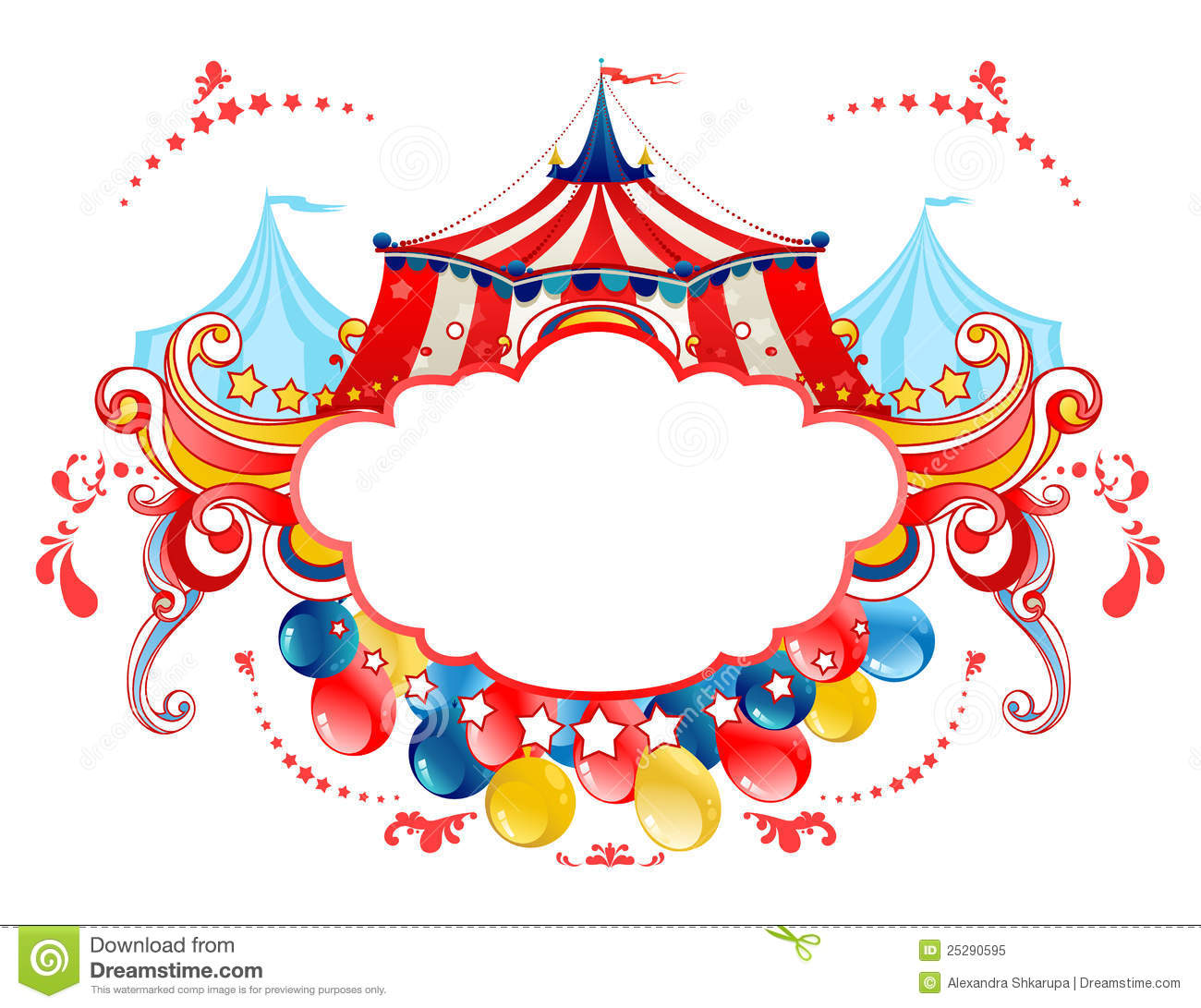 Tent clipart pixel art Party Circus 1 091 Carnival