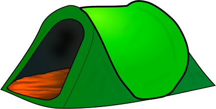 Tent clipart pixel art Art clipartoons images free clip