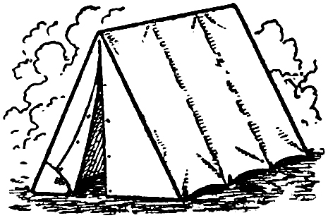 Tent clipart printable Graphics Camping Tent Free Clip