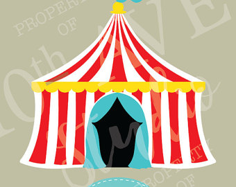 Tent clipart printable And Circus SVG/PNG/EPS/dxf Top Clipart