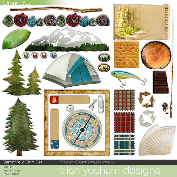 Campfire clipart printable Clipart Campfire Camp Campfire from