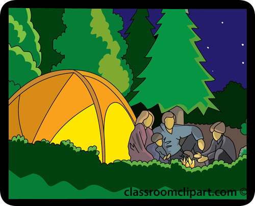 Tent clipart school camp Clipart clip camp kids pictures