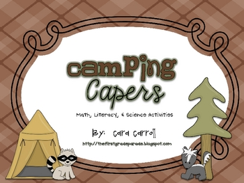 Tent clipart science camp Activities} Camping {Math Camping &