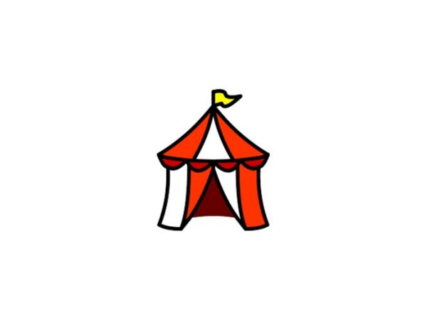 Tent clipart spring carnival Carnival UU Spring Wellesley Patch