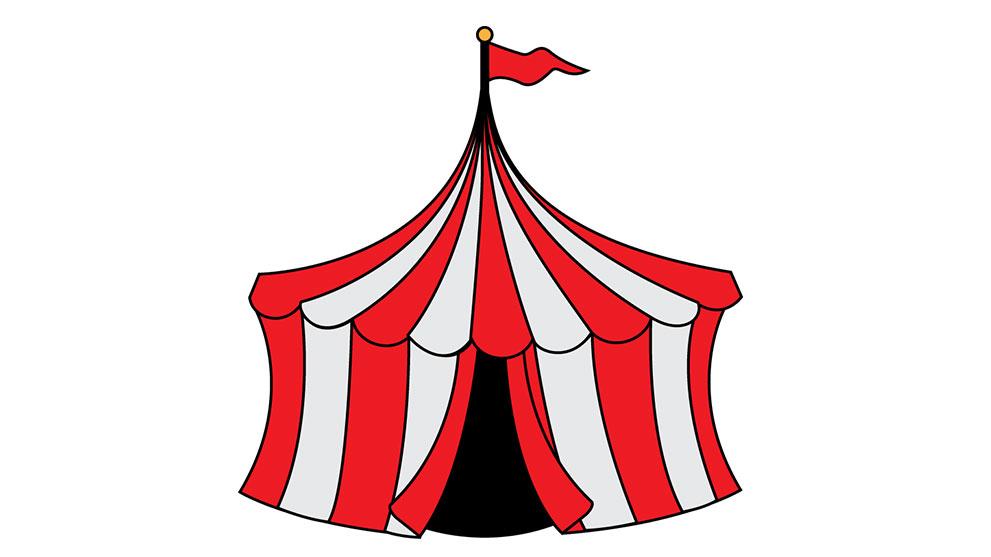 Tent clipart spring carnival Spring Canadiana Carnival Carnival of