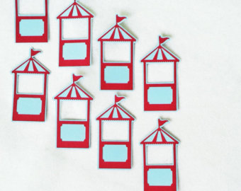 Tent clipart ticket booth Cuts Circus Party Theme Die