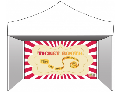 Tent clipart ticket booth Booth Side Booth Ticket Tent
