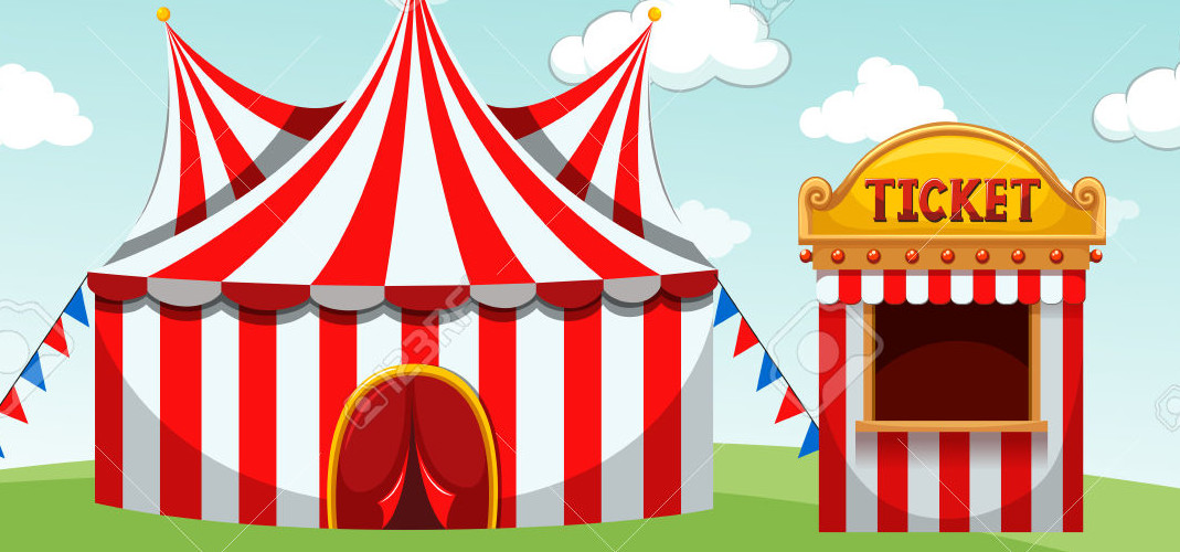 Tent clipart ticket booth Booth KRTN and tent ticket