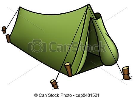 Tent clipart vector And Vector Illustration clip Tent