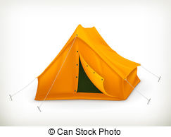 Tent clipart vector Illustration and Tent  vector