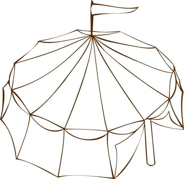 Tent clipart vector Tent  Circus Free in