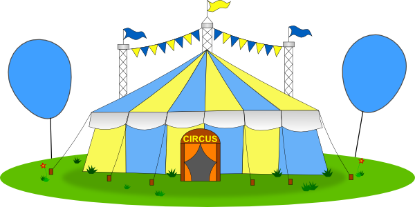 Tent clipart yellow Big Download vector this