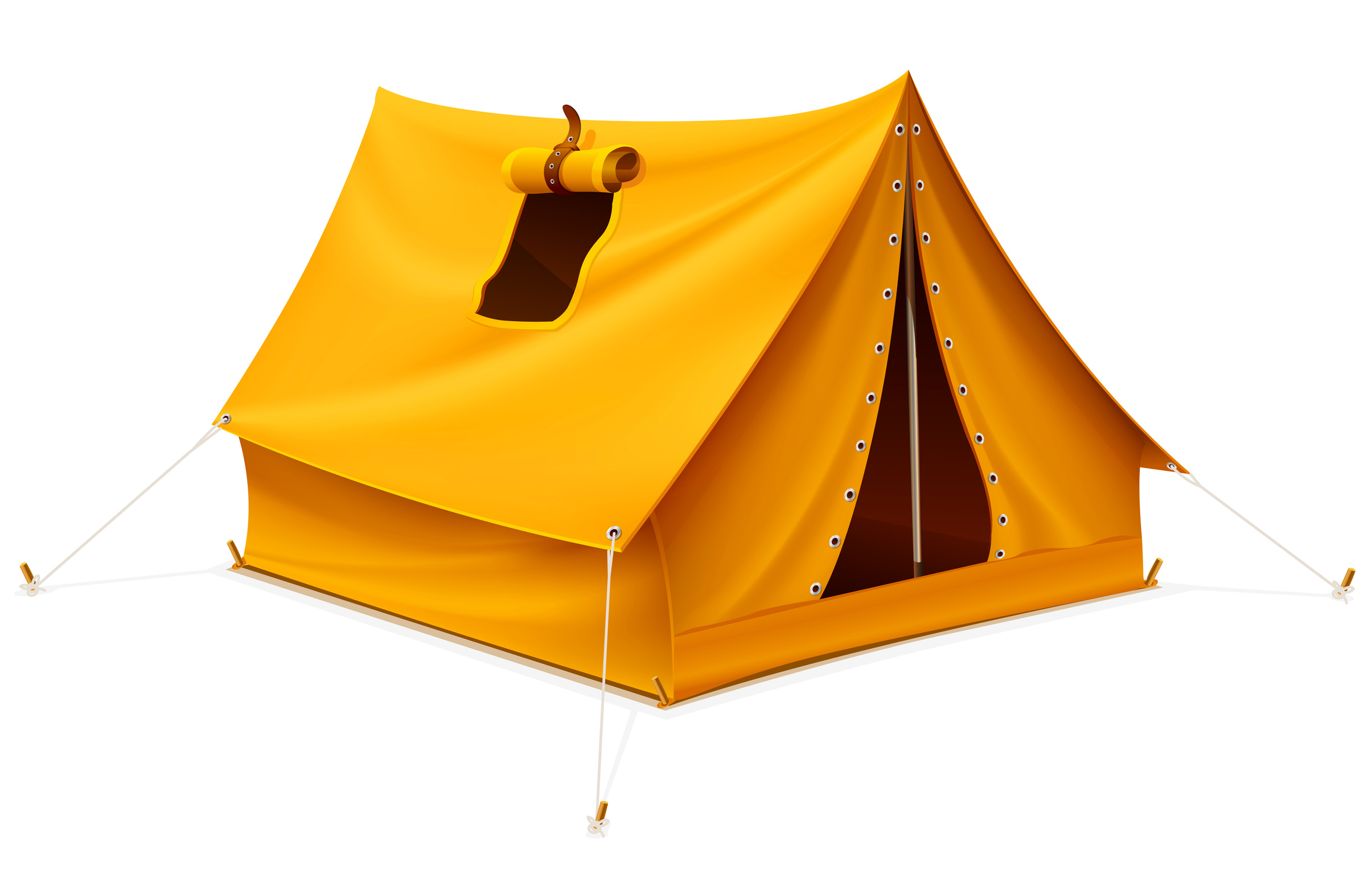 Tent clipart yellow Clipart Orange Tent Tent Icons