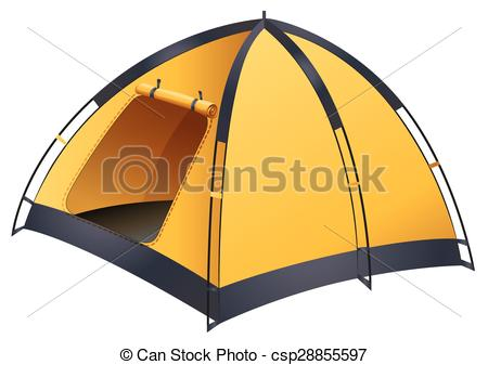 Tent clipart yellow Tent Vector Yellow of tent