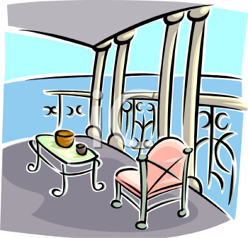 Terrace clipart Panda balcony%20clipart Free Images Terrace
