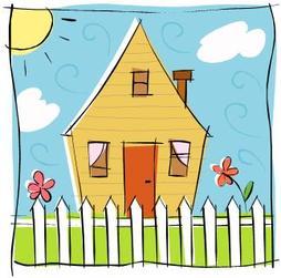 Terrace clipart Oak clip Terrace home art