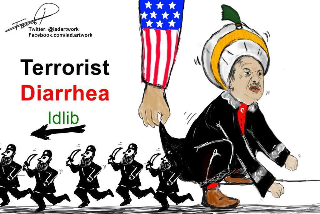 Terrorist clipart Iad #Idlib #ErdoganGoHome by #Turkey
